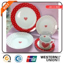 Vaisselle céramique 18PCS