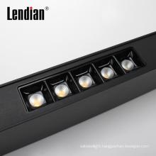 4ft ultra slim aluminum housing office factory 5w 10w 15w 20w  led linear tube light