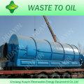 Экологически чистые уезда резина и пластик pryolysis машина с CE