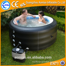 Outdoor mini pool spa inflatable swimming pool spa for sale