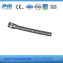Metal Trauma Bone Orthopedic Implant Tibial Platform Plate