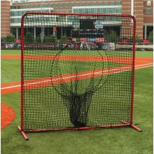 Portable folding practice softball net baseball hitting