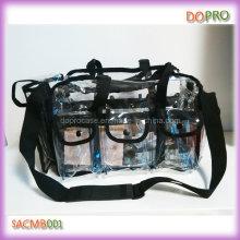 Sac de maquillage transparent professionnel en PVC à grande capacité (SACMB001)