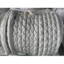 Corde de fibre chimique de 8 brins corde d'amarrage Corde de corde de polyester de corde PP corde