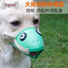 Engraçado flog e pássaro cão focinho anti mordida anti casca Respirável pet
