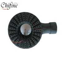 Brûleur d'anneau de gaz gris de fer avec le certificat de la CE