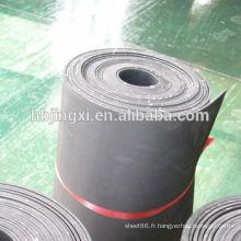 Rouleau en caoutchouc d'insertion de tissu