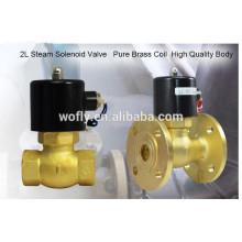 1/2 '' 1 '' 2 '' de alta temperatura de latón mini bobina de electroválvula de vapor en China
