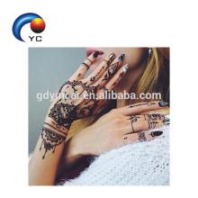 Os recém-chegados Henna Stencils Mehndi Estilo Design Elegante com Preço Competitivo