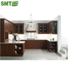 popular modern modular MDF MFC customized kitchen cabinet direct from china