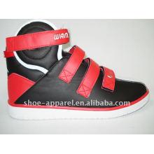 zapato de la música del alto cuello zapatos de baloncesto para hombres