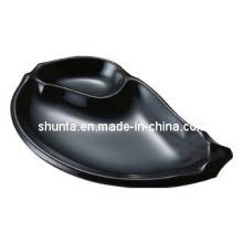 100%Melamine Tableware-Fashionable Plate (QQBKA09)