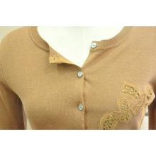 Оптовая с длинным рукавом джемпер свитера для женщин