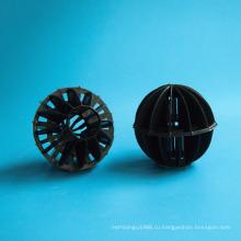 """4"""" поли поли полый пластиковый шар с плавающими шарами"""