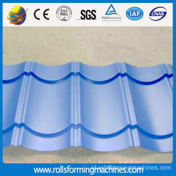 Mesin Roll Forming Genteng Glazed