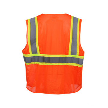 Colete de segurança reflexivo de alta visibilidade (classe dois)