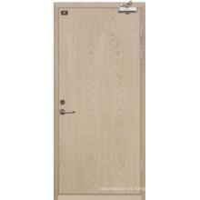 Puerta de madera clasificada fuego (YF-FW008)