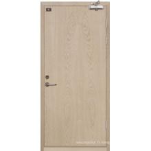 Porte en bois évaluée par feu (YF-FW008)