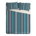 Feuille de lit d'impression en couleur bleue commune en stock