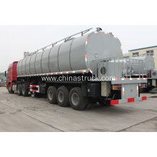 35m3 liquid heating and insulation asphalt tanker semi-trailer