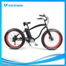 Strong power battery fat tyre electric bike