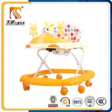 2016 China New PP Plastic Baby Walker with En71 Approved