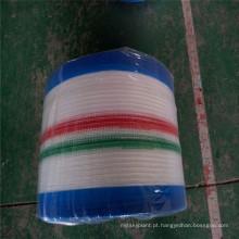 Saco de raschel de saco de cordão de agricultura em rolo
