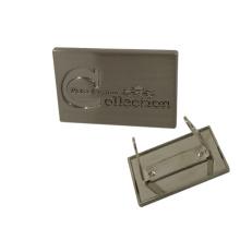 Taschen Zubehör Custom Engraved Metal Logo
