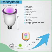 Lampe LED intelligente avec haut-parleur Bluetooth