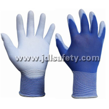 Blue Work Glove with PU Dipping (PN8004-18)