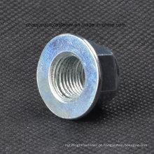 Aço de carbono 8.8 Grade Insert Flange Lock Nut (CZ011)