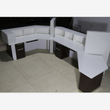 Dental reception desk for clinic office