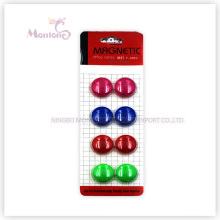 Dia. 2cm 8PCS Stationery Magenet, Memo Office Magnet for Whiteboard, Fridge