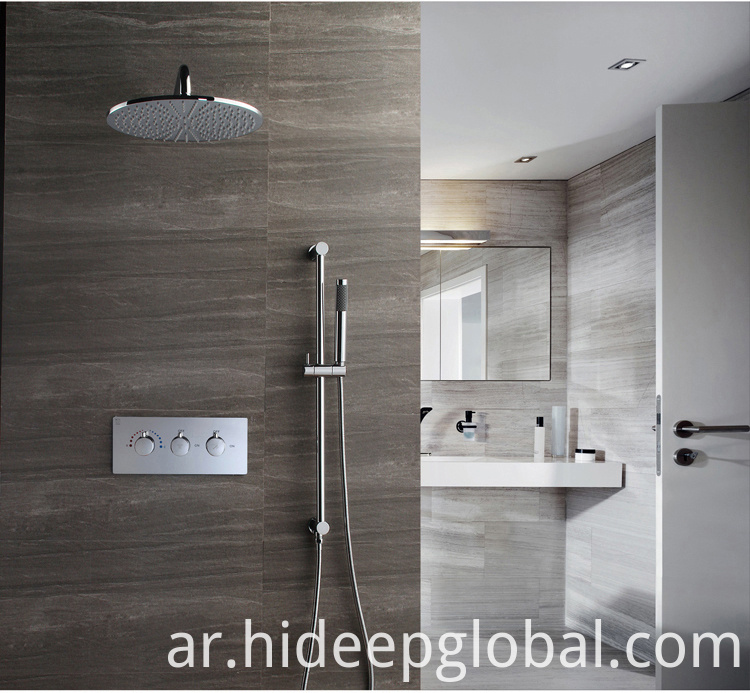 Chrome Bath Shower Faucet Set