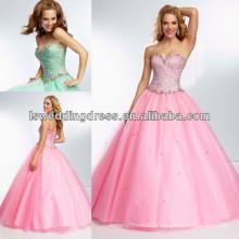 HE2119 Designer jóia com contas corpete multi coloured vestidos de baile