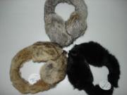 Rabbit Fur Earmuff (HTH08TX004)