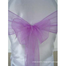 Lilac Decorate Chair Sash