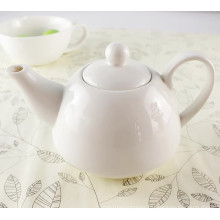 Customized White Color Ceramic Tea Pot Set
