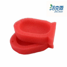 Fish Shape Sponge Soap Box of Mesh