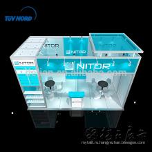 Изготовленный на заказ портативный выставка стенд выставочный стенд стенд дизайн и изготовление на выставке в Китае