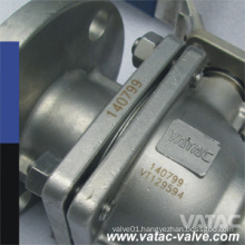 API 6D Floating 2 Pieces Type 1000 Wog Ball Valve