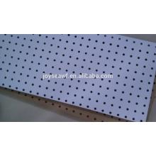 hole hardboard hole melamine paper hardboard