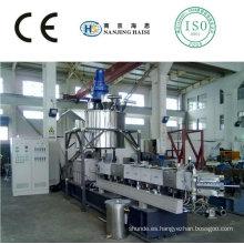 Euro-calidad TSE-52 Co-rotating twin paralelo tornillo extrusora máquina de plástico