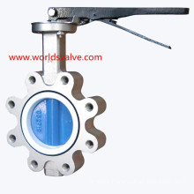 Stainless Steel Lug Butterfly Valve with Painting Disc