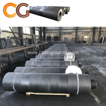 UHP 300mm Graphite Electrode Electric Arc Furnace