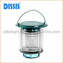 Lámpara portátil de iluminación y parásito de acero inoxidable