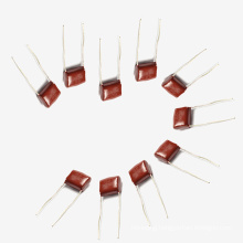 Top Sell 2016 Topmay Electronics Metallized Polyester Film Capacitor for Washing Machine Mkt 0.22UF