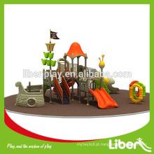 Priate série navio Kids playground ao ar livre utilizado equipamentos de recreio ao ar livre para crianças
