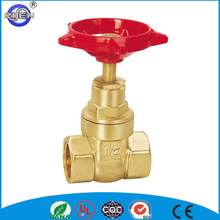 pn 16 intaly plain soft seal brass gate valve