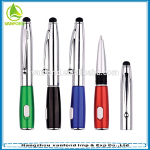 3 in 1 Factory Direct Multi Functional Stylus Pen with Light